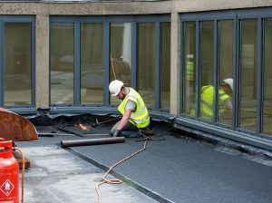 flat roof installation in Archway London